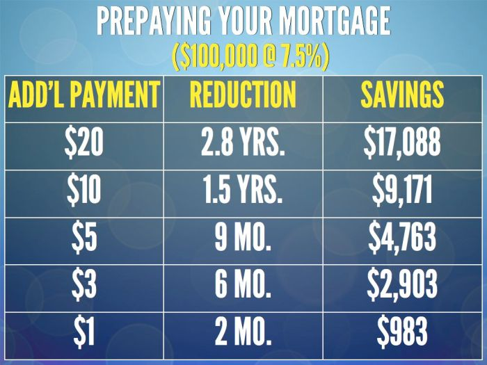 Prepaying Your Mortgage.027